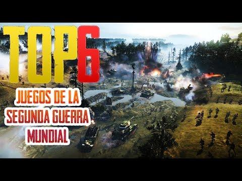 Top 6 - juegos de estrategia ambientados en la segunda guerra mundial | 2016