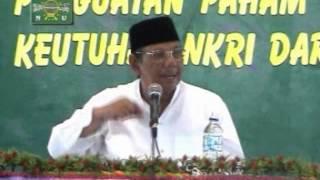 Pidato KH Hasyim Muzadi  Penguatan Paham ASWAJA Untuk Menjaga Keutuhan NKRI 2007