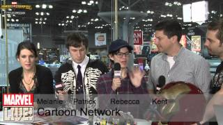 Melanie Lynskey, Patrick McHale, Kent Osborne, Rebecca Sugar Talk About Past Comic Cons at NYCC 2014