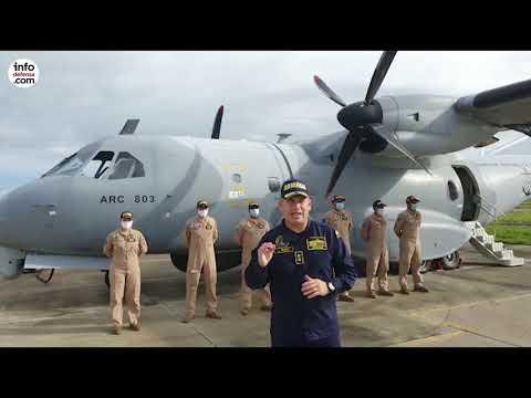 La Armada Colombiana suma fragatas y más aeronaves al despliegue por el huracán Iota