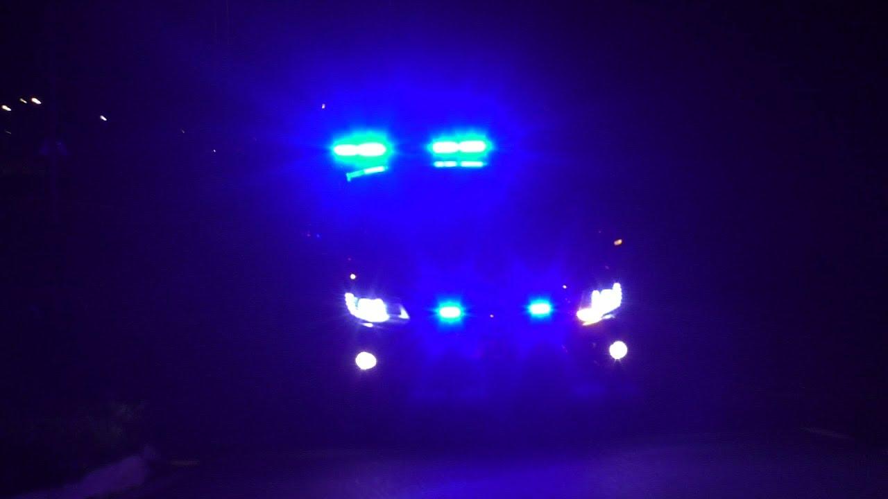 Brandweer en Politie met Spoed naar een Zeer Grote Brand GRIP 1 aan de Stevinstraat in Heerhugowaard