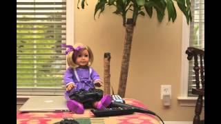 American Girl Dolls Play LEGO Rock Band Stop Motion