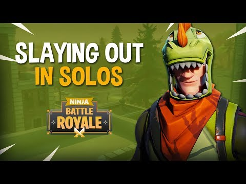 Slaying Out In Solos!! - Fortnite Battle Royale Gameplay - Ninja