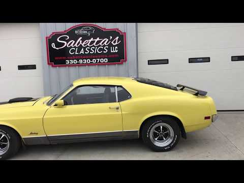1970 Ford Mustang Mach 1 (CC-1190088) for sale in Orrville, Ohio