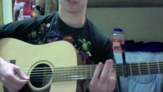 How to play Alligator pie by dave matthews