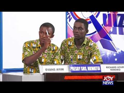 Presec-Legon, Yaa Asantewa Girls' SHS and Presec-Akwatia - NSMQ 2018 1/8th Stage