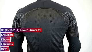 WICKED STOCK Potomac Protective Riding Shirt