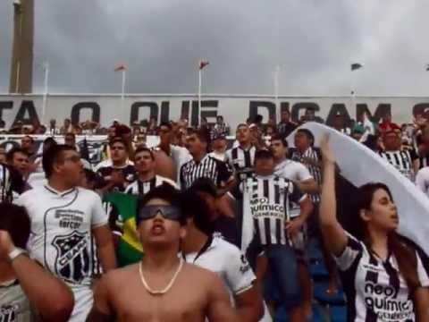 """""""Setor Alvinegro do Ceará Sporting Club"""" Barra: Setor Alvinegro • Club: Ceará"""