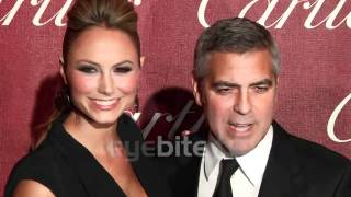 Джордж Клуни, George Clooney and Stacy Keibler at Palm Springs Film Festival 2012