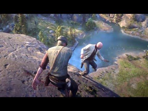 Red Dead Redemption 2 - Funny & Brutal Moments Vol. 34 (Euphoria Ragdolls)