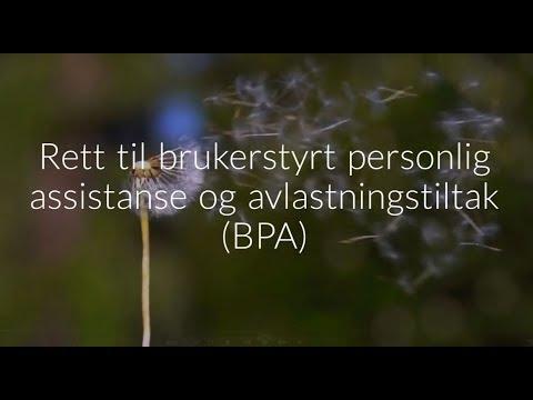 Rett til brukerstyrt personlig assistanse og avlastningstiltak (BPA)