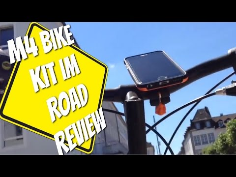 M4 Bike Kit - Preisgekrönte Fahrrad-Halterung für alle iPhones - Zu Recht ?!? Test Review