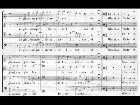 Palestrina - Mottetto Nunc dimittis (score)