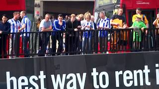 The UK Today - Hull City & Sheffield Wednesday Fans At Wembley Stadium For  Play Off Final. May 2016
