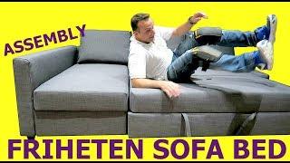 Ikea Hoekslaapbank Manstad.Ikea Holmsund Sofa Bed Assembly Free Online Videos Best Movies
