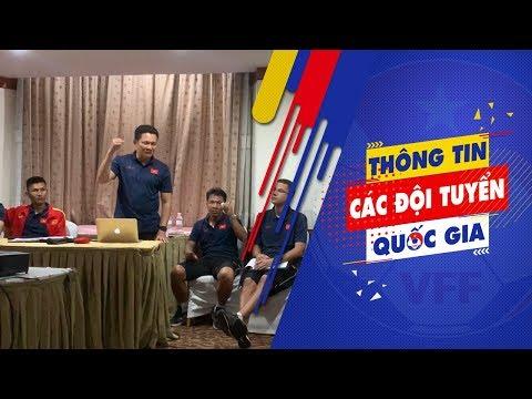 HLV Nguyễn Quốc Tuấn: Các em phải thi đấu vì lá cờ trước ngực