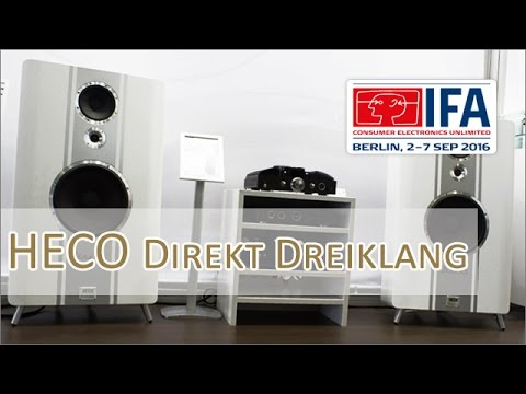 IFA 2016: HECO Direkt Dreiklang (Weiß) vorgestellt, Hands on