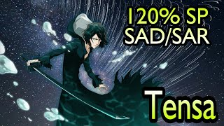 Tensa (Discount FBI Ver.) 120% SP Bait Pills Combo SAD SAR Bleach Brave Souls