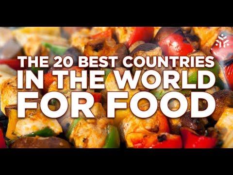 کھانوں کے حوالے سے دنیا کی دس مشہور جگہیں