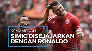 Punya Skill dan Kemampuan yang Luar Biasa, Marko Simic Disejajarkan Cristiano Ronaldo
