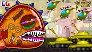 ОХОТА на ГИГАНТСКОГО СЛИЗНЯКА МУТАНТА! Приключение инопланетной слизи в Игре Mutant Blobs Attack