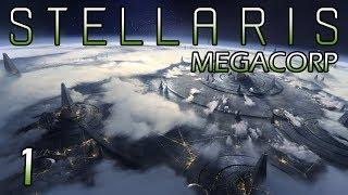 Stellaris: Megacorp — Part 1 - Spreading the Holy Gospel