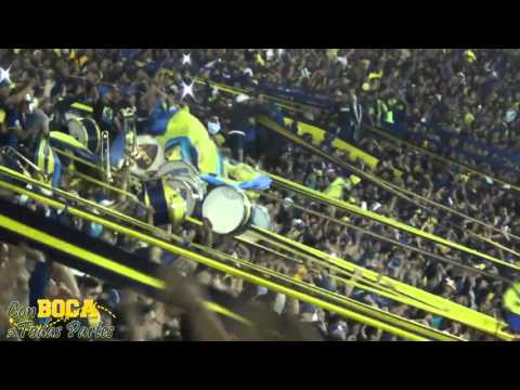 """La vuelta en La Boca vamo' a dar / BOCA CAMPEÓN 2015"" Barra: La 12 • Club: Boca Juniors • País: Argentina"