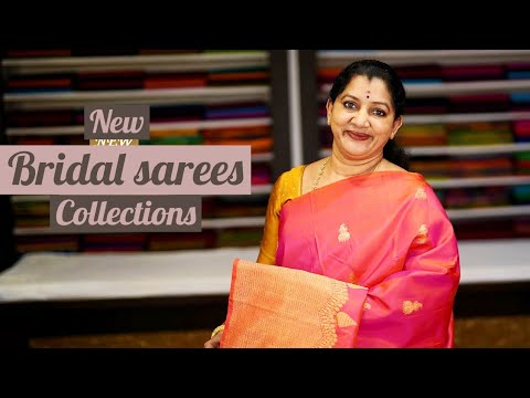 """<p style=""""color: red"""">Video : </p>NEW BRIDAL SAREES COLLECTION"""