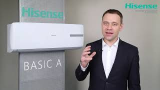 Кондиционер HISENSE AS-09HR4SYDDL3G BASIC A от компании F-Mart - видео