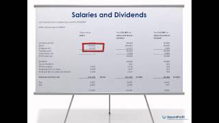 Salaries and dividends