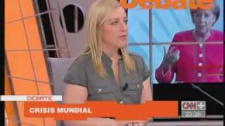 2 Yolanda Vaccaro En CNN Plus Habla Sobre La Crisis Económica Y Las Reformas Laborales En Espana