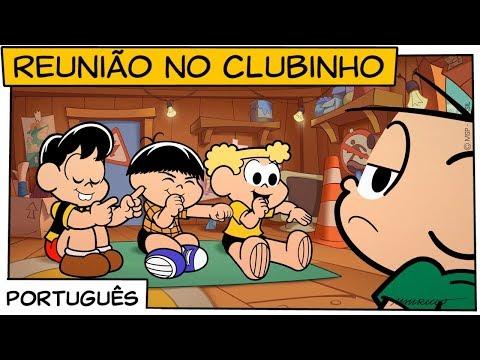 Reunião no Clubinho | Turma da Mônica