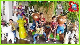 น้องบีม | ร้านอาหารที่เด็กชอบ เที่ยวราชบุรี บ้านผักหวาน