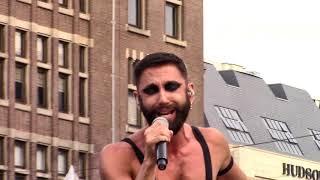 "Conchita Wurst Met ""To The Beat"" En ""Trash All The Glam"" Op Slotfeest Dam, Amsterdam Gay Pride 2019"