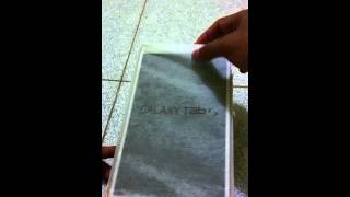 preview picture of video 'Unboxing Samsung Galaxy Tab S 8.4 Indonesia'