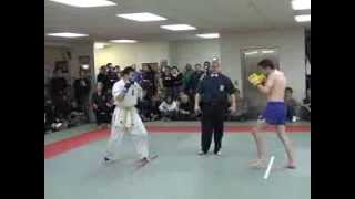 Kickboxing Vs Karate - Steve Haigh Vs Daisuke