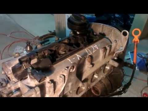 Фото к видео: Golf 4 Замена Двиготеля AZD 1.6V16 Пошаговая разборка (Часть 1)