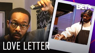 Insecure & Bigger's Tristen Winger Attempts To Be His Own Quarantine Barber... | Love Letter