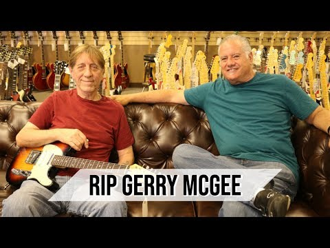 RIP Gerry McGee! You will be missed!!! Norman's Rare Guitars