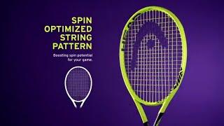 Ρακέτα τέννις Head Graphene 360 Extreme MP video