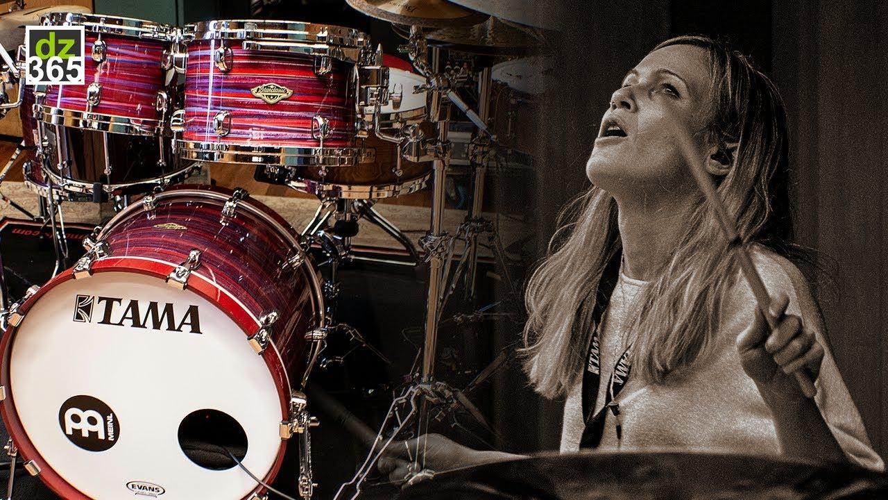 Drummerszone News Anika Nilles One Off Tama And Meinl