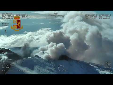 Der Vulkanausbruch