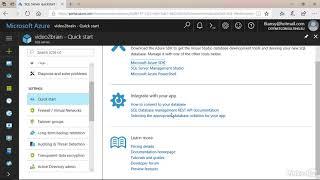 SQL Azure Server in der Übersicht