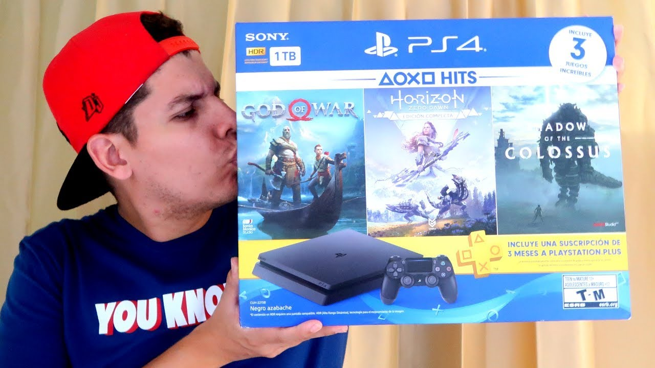 UNBOXING PLAYSTATION 4 SLIM BUNDLE HITS - Mi primera Ps4
