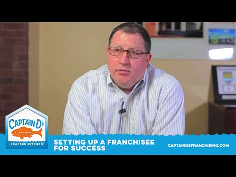, title : 'Setting up the Captain D's franchisee for success
