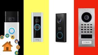 4 Video-Türklingeln im Vergleich - Integration in ioBroker, Mediola, Alexa!   verdrahtet.info [4K]