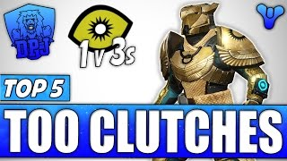 Destiny: Amazing Plays - Top 5 Trials Of Osiris Clutches / Episode 410