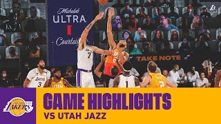Lakers v Jazz Highlights