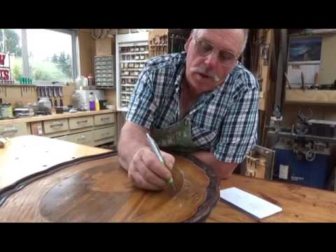 Antique Furniture Restoration Shows Everything About Veneer