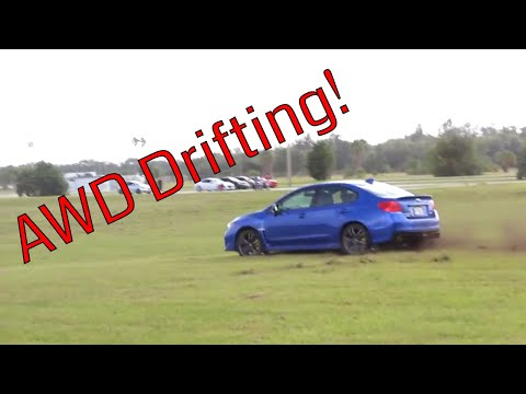 WRX Off Road DRIFT At A CAR MEET!